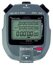 SEIKO S143 300-Lap Memory Stopwatch with Printer Port