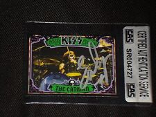 ERIC SINGER 2009 PRESS PASS KISS SIGNED AUTOGRAPHED CARD DRUMMER CAS AUTHENTIC