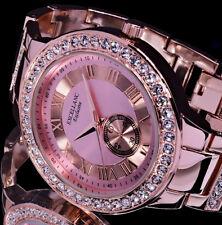 Excellanc Uhr Damenuhr Armbanduhr Silber RoseGold Farben STRASS RI 10