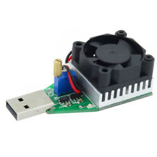 Best aging test USB Electronic Load Module 15W 3A Discharger DC 3.7-13V
