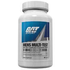 GAT Mens MULTI + TEST Multivitamin and Testosterone Booster - 60 tablets