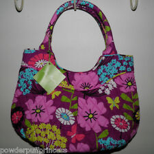 VERA BRADLEY GIRLS MINI TOTE Purse Bag FLUTTERBY Pleated Rolled Handles NWT $48