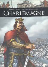 BD Charlemagne Dédicacée Gwendal Lemercier neuf !