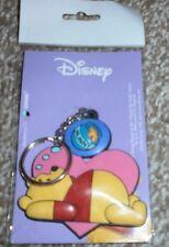 Winnie The Pooh - Heart / Honeypot Keyring - Disney - New
