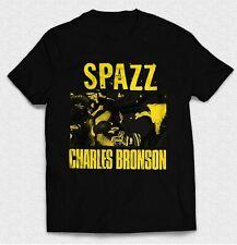 Vintage Love Hardcore Spazz Charles Bronson Concert Men's T Shirts