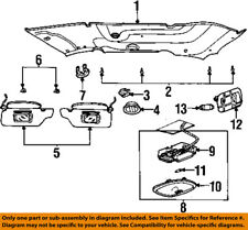 FORD OEM 99-03 Windstar-Dome Light-Overhead Lamp Right 2F2Z13A701AAB