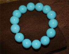 natural tibetan genuine green turquoise bracelet real mala worry prayer beads