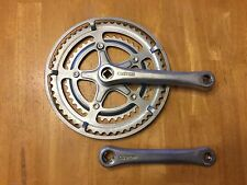 Vintage SR Sakae Custom Road Bike Crankset 170 - 52/40 - Double