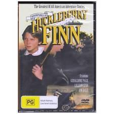 DVD ADVENTURES OF HUCKLEBERRY FINN Lillian Gish Geraldine Page PAL REGION4 [BNS]