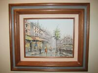 SIGNED Mid Century Modern Listed Artist Dorothy Louise Bowman Original Painting