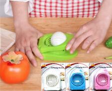 Stainless Steel Boiled Egg Slicer Mushroom Cutter High Grade Kitchen Utensil UK