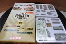 DRAGON 1/144 PANZER KORPS GERMAN M11 3A3 & M3A2 TANKS KIT BOXED WARGAMES