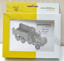 HO-ROCO MiniTank 5054 Krupp L2H 43/143 Protze 1:87 Plastic Kit NEW