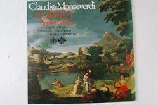 Monteverdi L'Orfeo Favola in Musica Concentus Musicus Wien Harnoncourt (LP28)