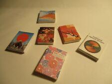 6 maison de poupées miniature Japanese Books taille plus petite