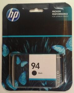 HP Genuine 94 BLACK Single Ink Cartridge NOS Sealed C8765WN EXP 2012
