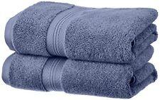 2 Articles et textiles bleus coton pour la salle de bain