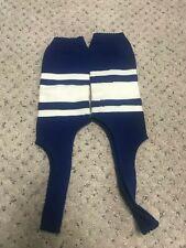 Vintage CWS Style Baseball Stirrup Socks Royal Blue w/ White Stripes