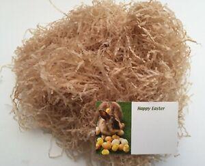 ShredAstic ® Natural Straw 20g Shredded Tissue Paper / Easter Florist Tag