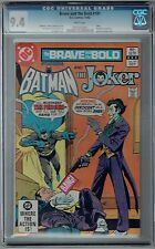 Brave and the Bold #191 CGC 9.4 NM Wp DC Comics 1982 Batman & Joker + Penguin