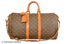 Louis Vuitton Monogram Keepall 45 Bandouliere Travel Bag / Strap M41418 - G00915