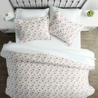Home Collection Premium Ultra Soft 3 Piece Blossoms Print Duvet Cover Set