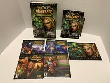 World of Warcraft: The Burning Crusade (Pc, 2007) Complete Cib Extremely Clean