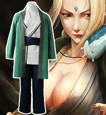 Anime Naruto Tsunade Cosplay female Costume Adult Clothes Ball Suits Halloween