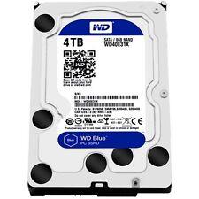WD - Blue 4TB Internal SATA Hybrid Hard Drive for Desktops - Black