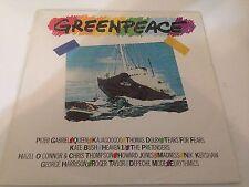 Greenpeace The Album Vinyl LP Record queen george harrison depeche mode rock NEW