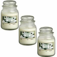 🔥 SET 3 CANDELA PROFUMATA 550 gr IN VETRO GELSOMINO GIARA COVER YANKEE CANDLE