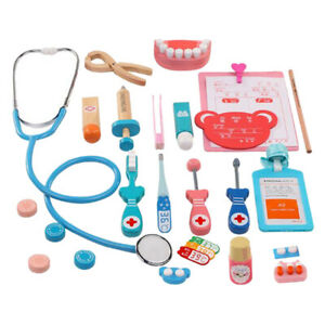 Full Set Doctor Toys Set Kids Pretend Play Playset Toy Kits Party Role Play