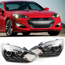 Genuine Halogen Head Light Lamp (LH&RH) 2EA for HYUNDAI 2013-2017 Genesis Coupe