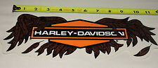 "🔥 VINTAGE GENUINE HARLEY DAVIDSON GOLD WING BAR DECAL STICKER 11.5"" X 3.5"" 🔥"