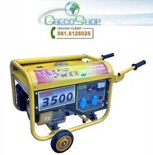 Gruppo elettrogeno/Generatore di corrente 2.8KW - 220V con ruote