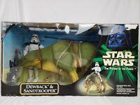 "*NEW* Hasbro Star Wars POTF Dewback & Sandtrooper 32"" Posable Action Collection"
