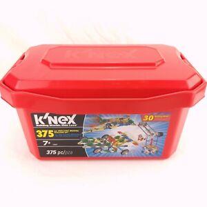 K'nex Storage Bin - Red - Various Years