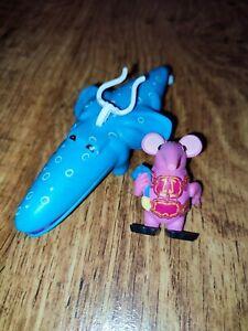 "Clangers 4.5"" Sky moo Tiny holding Sky-moo figure toy bundle CBeebies ULTRA RARE"
