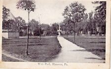 Wirt Park in Hanover Pa 1909