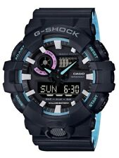 Casio G-Shock * GA700PC-1A Front Button Anadigi Prismatic Color Black COD PayPal