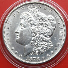 USA-Amérique: 1 Morgan Dollar 1878-s (San Francisco) ARGENT .900, KM # 110 #f 2381