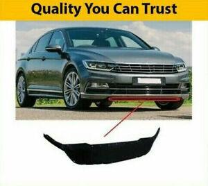 VW Passat B8 Front Bumper Lower Centre Lip Spoiler 2015- Insurance Approved New