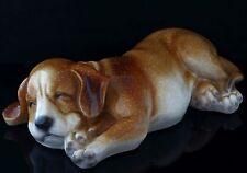 "Vintage Staffordshire Bull Terrier Puppy Figurine Pottery Ceramic Dog Statue 9"""