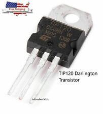 5pcs Tip120 Npn Darlington Transistor To 220 60v 5a For Ardunio Raspberry Pi