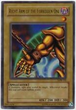 Yugioh Right Arm of the Forbidden One LOB-122 Ultra Rare Lightly Played