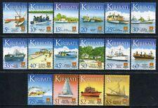Kiribati 2013 Schiffe Ships Boote Navi Bateaux Seefahrt Freimarken 1132-47 MNH