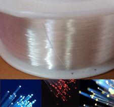 PMMA Plastic End Glow Optical Fiber Cable Light for LED Fiber Lighting Kit