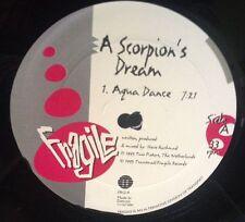 "A SCORPIONS DREAM 12"" RARE ORIGINAL vinyl DERRICK MAY FRAGILE TRANSMAT 1993"