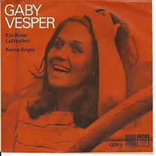 7'Gaby Vesper >Ein Roter Luftballon/Keine Angst<   SAGA