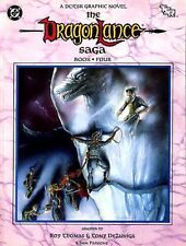 THE DRAGONLANCE SAGA BOOK FOUR NM! AD&D Graphic Novel D&D Dungeons & Dragons TSR